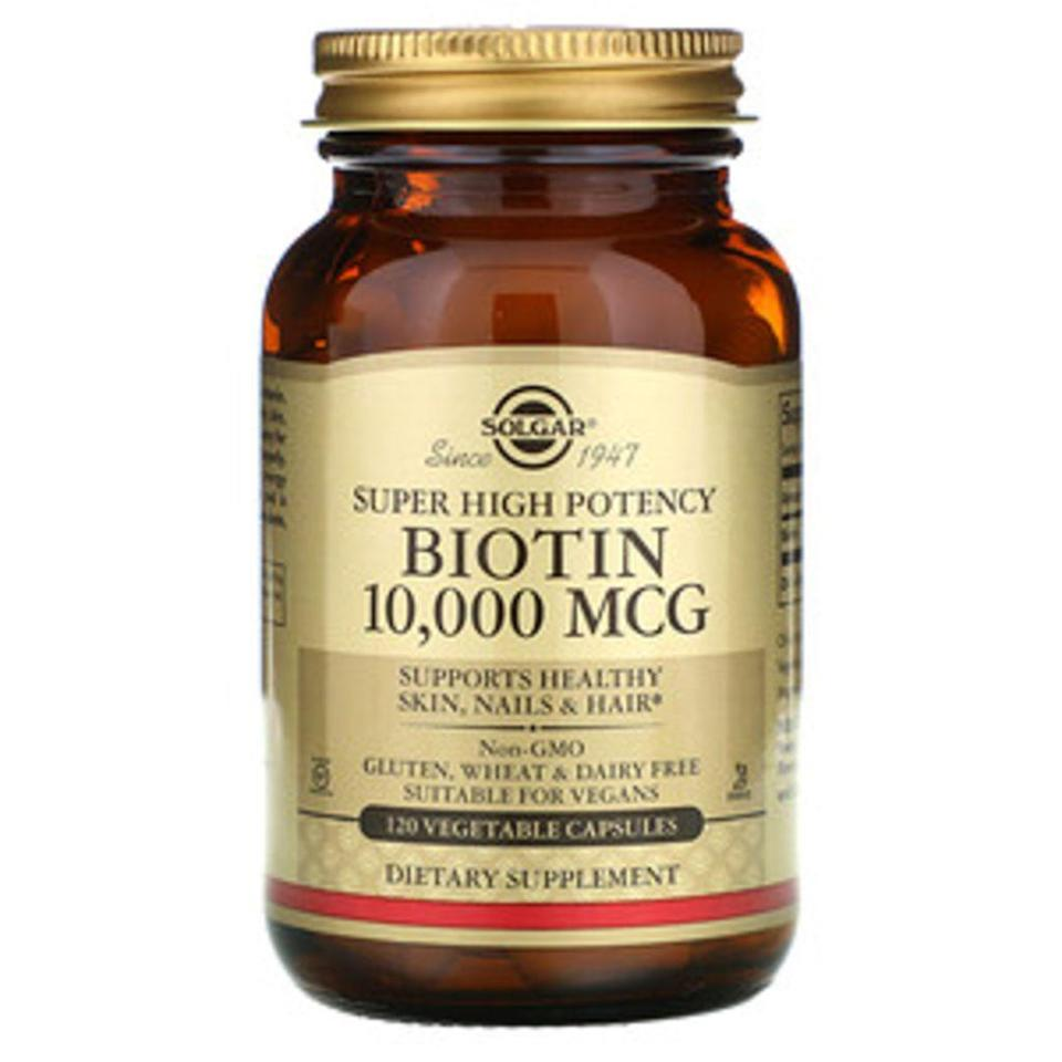 solgar, best biotin hair supplements