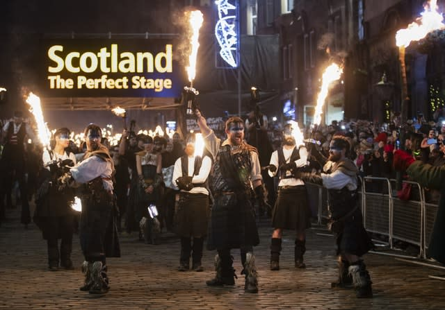 Edinburgh Hogmanay celebrations