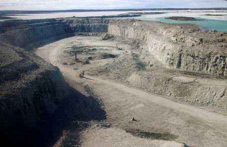 FILE PHOTO: Agnico bets on high grade gold as it digs in Canada's remote north