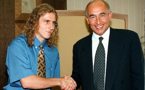 Poborsky signed for Manchester United in 1996 - Credit: AP