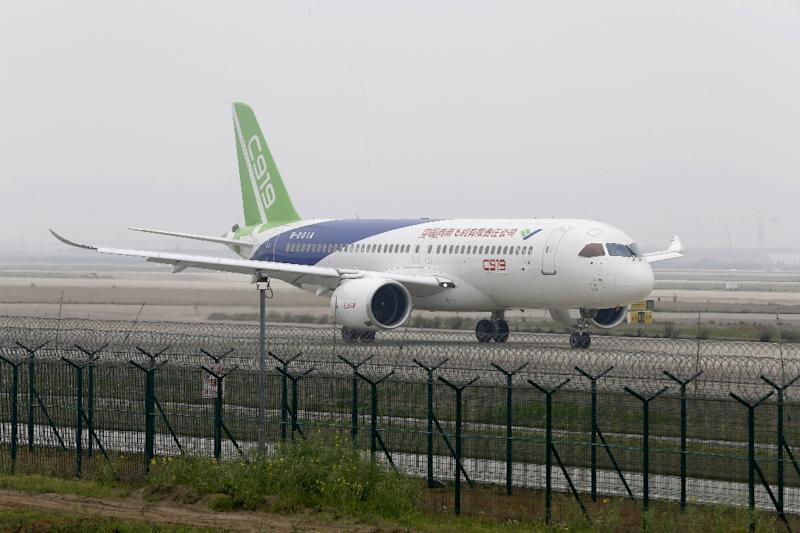 China's C919 jet: A timeline of events from drawing board to take-off
