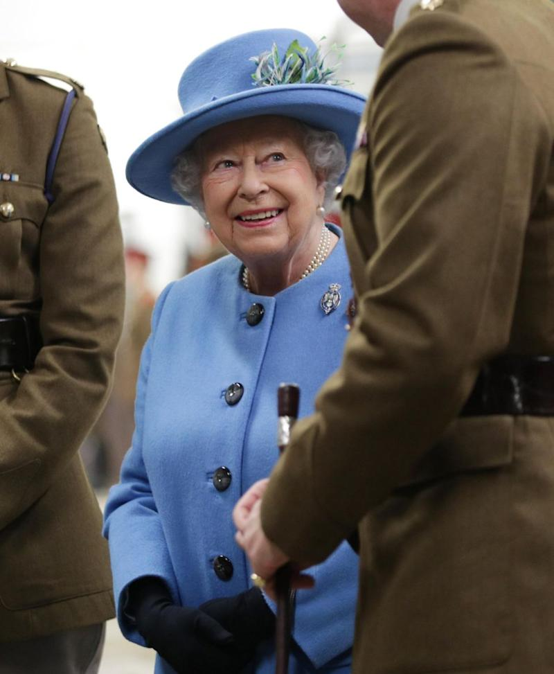 If you ever find yourself in a tricky situation, the Queen has you covered. Photo: Getty Images