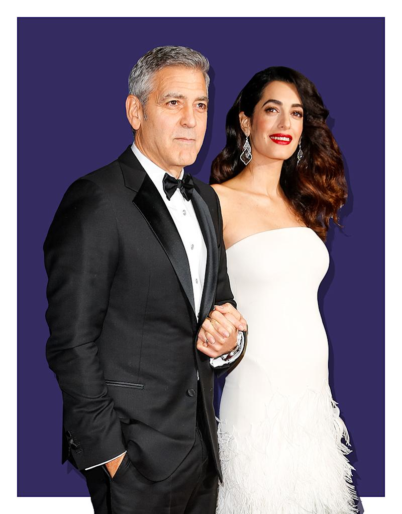 Amal Clooney's Baby Bump Got All Dressed Up in a