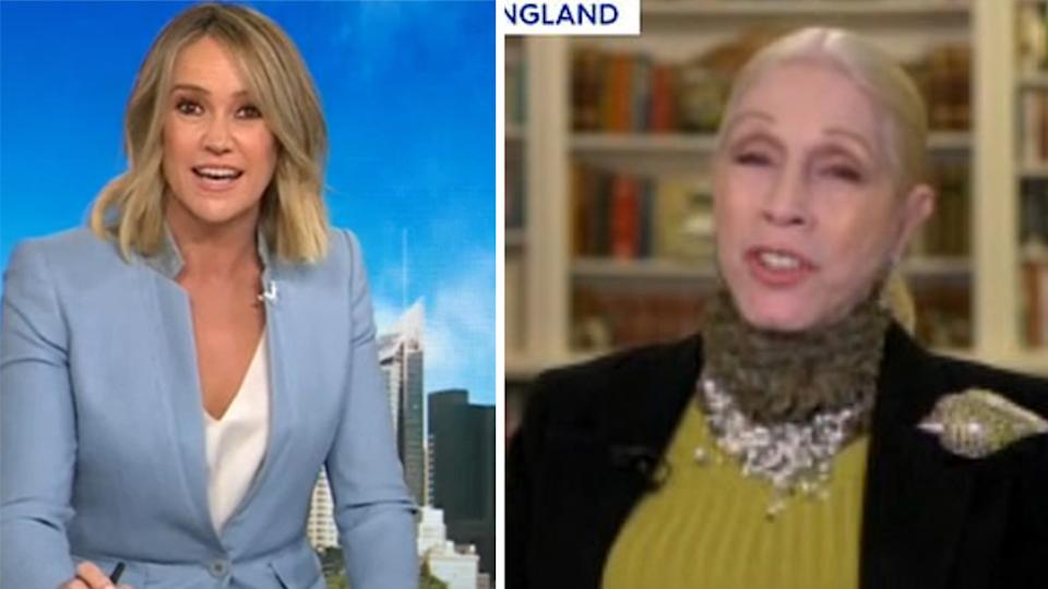 today show interview lady colin campbell