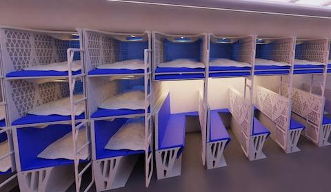 Flat beds, economy style - Credit: tu delft
