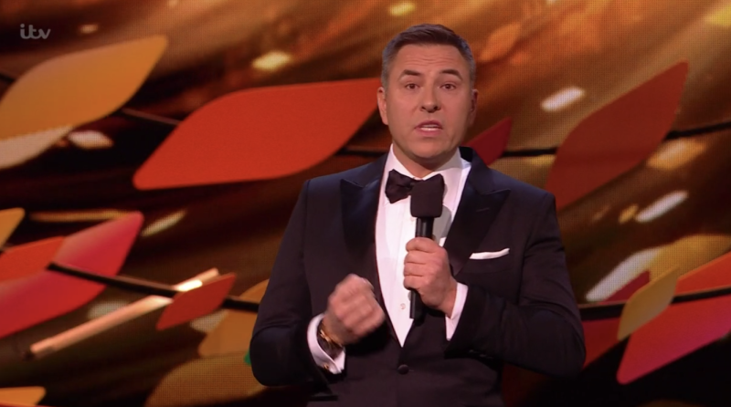 "David Walliams joked about Laurence Fox's ""empty calendar"". (ITV)"