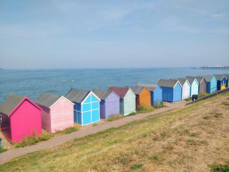 The weekend was spent by the sea and weekdays were spent working from 'The Potting Shed'. (Photo: Natasha Hinde)