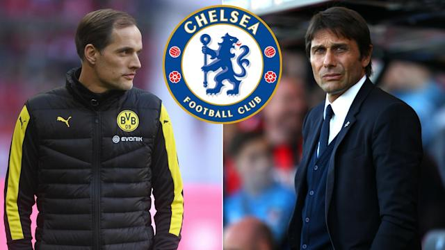 Thomas Tuchel and Antonio Conte