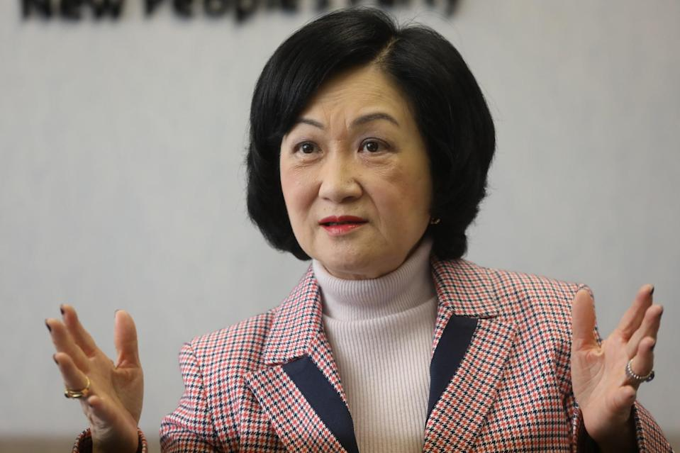 Regina Ip, of the New People's Party. Photo: K. Y. Cheng