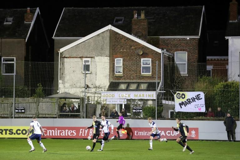Tottenham avoided the FA Cup's biggest ever shock at eighth-tier Marine