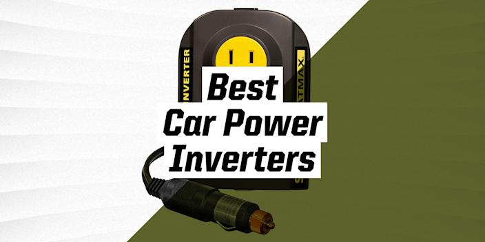 """<p>A car power inverter can turn a vehicle's 12-volt direct current power supply into an 120-volt alternating current found in household grids. In simple terms, this allows you to charge a wide variety of your devices using your car. The exact charging capacity of an inverter is determined by the wattage specification set by the manufacturer, with more expensive models generally supplying more watts.</p><h3 class=""""body-h3"""">What to Consider</h3><p>As we mentioned, wattage is very important, so be very aware of what your power needs are when purchasing an inverter. Drawing excessive power from your inverter can cause blown fuses or electrical failures. Also keep in mind that when you plug in multiple devices that the wattage adds up. Things like phones and camera chargers pull minuscule amounts of power, while TVs and computers can use around 50-100 watts apiece. Space heaters and power tools can even pull over 1000 watts on their own. </p><p>You'll also want to keep your engine running for devices over 100 watts, as they will drain your car battery over time. Look out for the number of outlets available on a device, and its power source. Small capacity inverters plug conveniently into any automotive 12-volt outlet, while larger ones may need to connect directly to the battery.</p><h3 class=""""body-h3"""">How We Selected</h3><p><em>Popular Mechanics</em> has picked these products at a variety of price points using a combination of hands-on experience, and research conducted through sources like <em>Autoguide</em>, <em>CNET</em>, and <em>Consumer Reports</em>.</p>"""