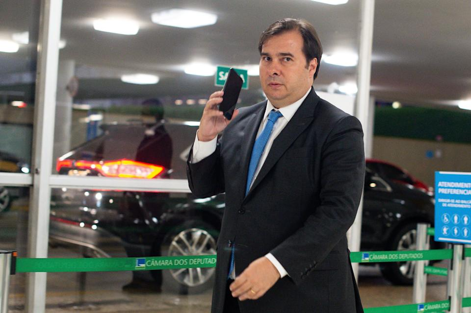 Rodrigo Maia é um dos aliados de Ramos.  (Photo: Andressa Anholete via Getty Images)