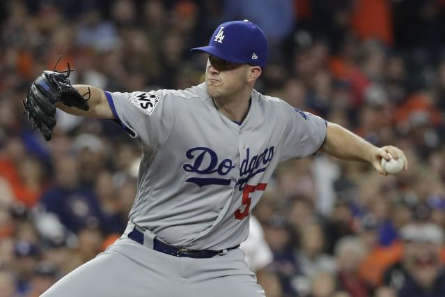 Alex Wood made only one mistake in Game 4 of the World Series. (AP Photo/David J. Phillip)