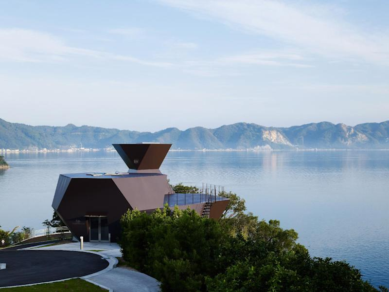 This publicity photo provided courtesy of Toyo Ito and Associates, Architects, shows Japanese architect Toyo Ito's Toyo Ito Museum of Architecture, 2006-2011, in Imabari-shi, Ehime, Japan. Ito has won the 2013 Pritzker Architecture Prize, the prize's jury announced Sunday, March 17, 2013. Ito, the sixth Japanese architect to receive the prize, is recognized for the libraries, houses, theaters, offices and other buildings he has designed in Japan and beyond. (AP Photo/Courtesy of Toyo Ito and Associates, Architects, Daici Ano)
