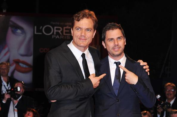 Actor Michael Shannon and director Ariel Vromen attend 'The Iceman' premiere during the 69th Venice Film Festival at the Palazzo del Cinema on August 30, 2012 in Venice, Italy. (Photo by Pascal Le Segretain/Getty Images)