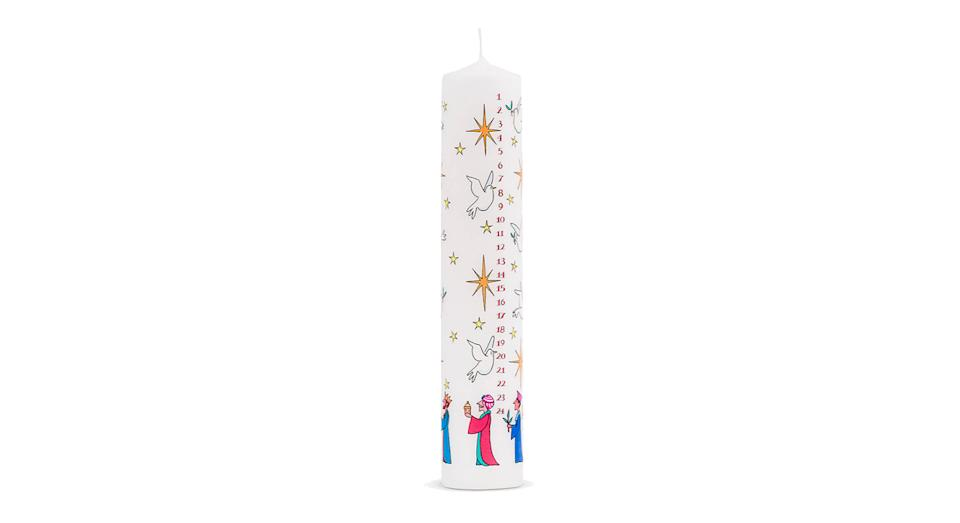 Wise Men Advent Pillar Candle