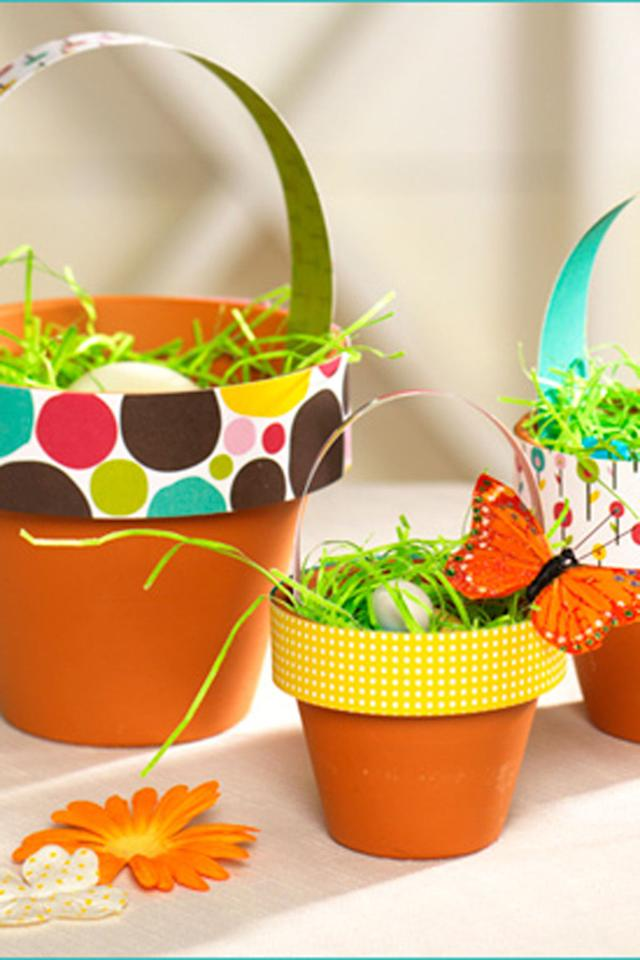 20 Cute Homemade Easter Basket Ideas