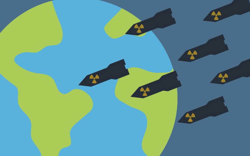 How many nukes are in the world
