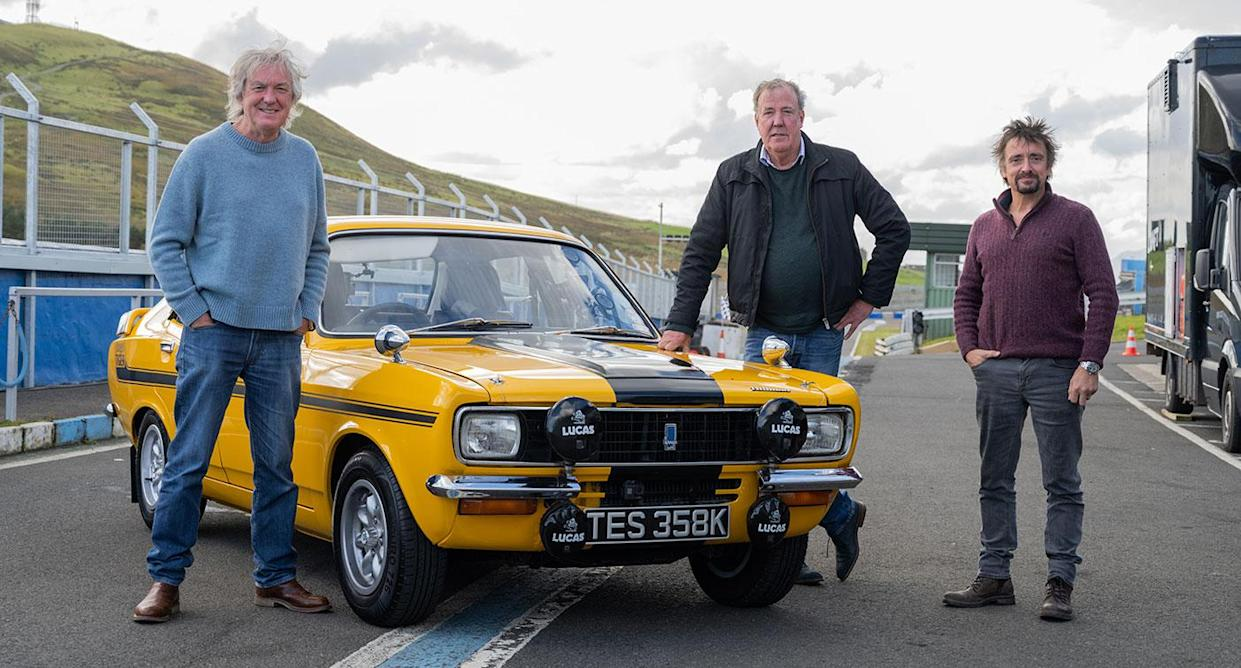 Jeremy Clarkson, James May and Richard Hammond return for The Grand Tour Presents: Lochdown (Amazon Prime Video)
