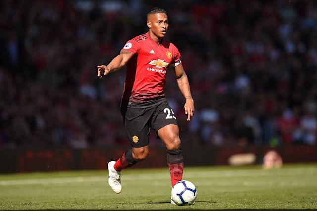 Antonio Valencia left Manchester United at the end of the 2018/19 season after a decade at the Old Trafford club (AFP Photo/Oli SCARFF )