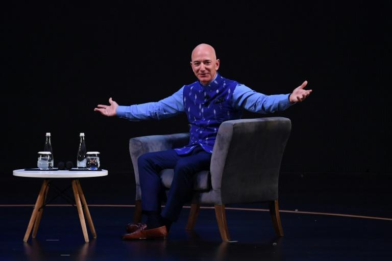 Amazon CEO Jeff Bezos (pictured January 2020) announced in 2018 the creation of a philanthropic fund to help homeless families and launch preschools in low-income communities, committing an initial $2 billion
