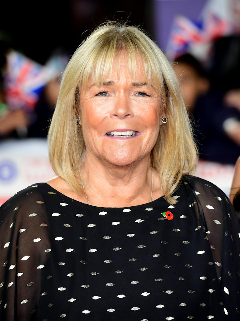 Linda Robson arriving for the Pride of Britain Awards held at the The Grosvenor House Hotel, London. (Photo by Ian West/PA Images via Getty Images)