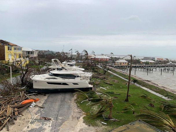 PHOTO: Damage from Hurricane Dorian is seen in Marsh Harbour, Sept. 3, 2019, in the Bahamas. (ABC News)