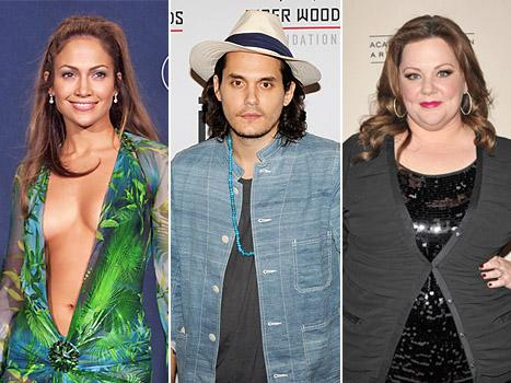 """CBS Sets a Dress Code for the Grammys, John Mayer Says He Was a """"Jerk"""" to His Exes, Melissa McCarthy Is Called a """"Hippo"""" by a Movie Critic: Today's Top Stories"""