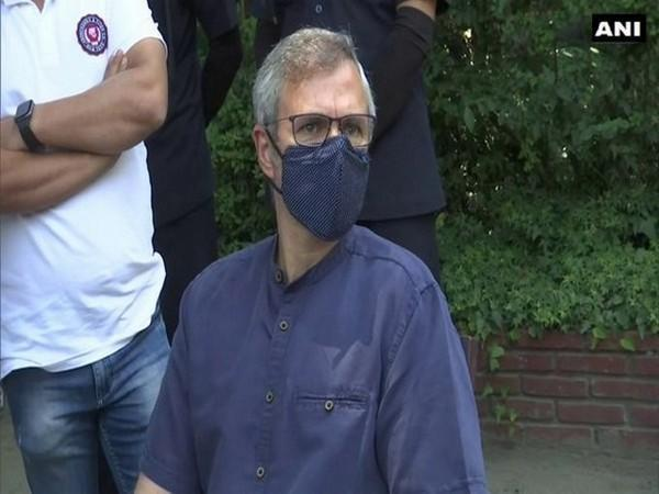 Former Chief Minister of Jammu and Kashmir Omar Abdullah (file photo)