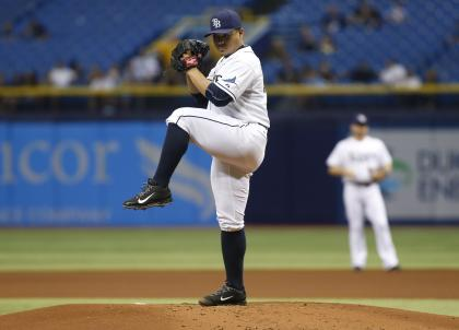 The Rays have noticed how starters aren't as effective the third time through an order. (Getty)