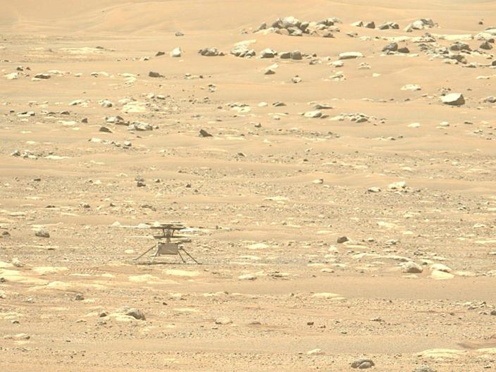 NASA's Ingenuity helicopter just failed to take off from Martian surface, but will try again on Friday