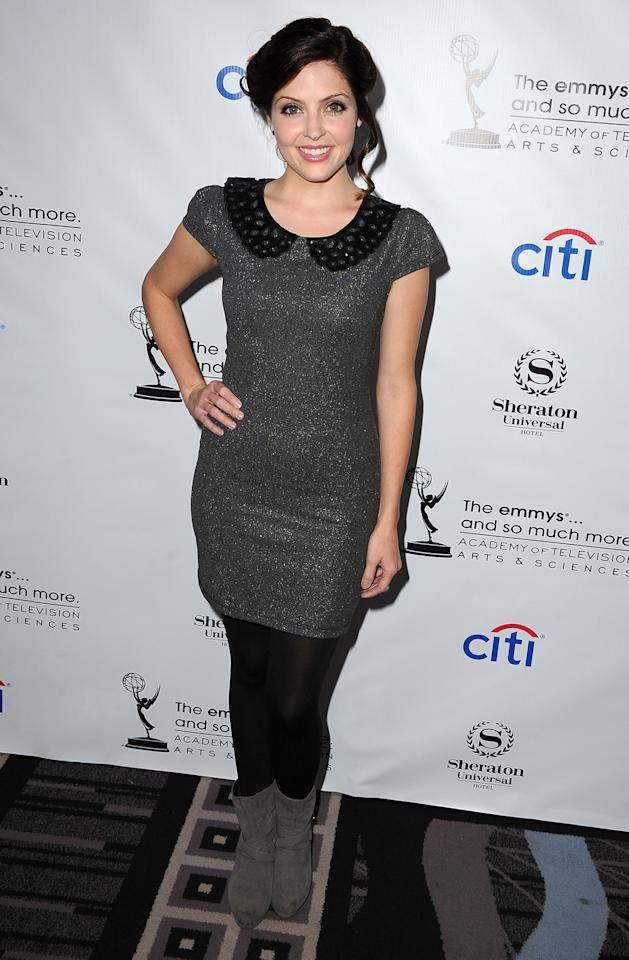 Jen Lilley arrives at the Academy Of Television Arts & Sciences' Performers Peer Group Cocktail Reception to celebrate the 65th Primetime Emmy Awards at Sheraton Universal on August 19, 2013 in Universal City, California.