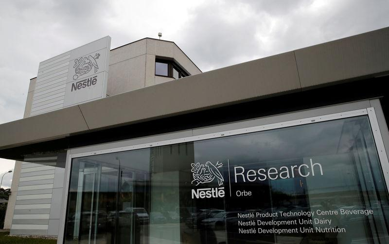 FILE PHOTO: The Nestle Research Center is pictured in Orbe