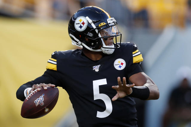 Welcome to Jacksonville: The Pittsburgh Steelers have reportedly traded quarterback Joshua Dobbs to the Jaguars. (AP)