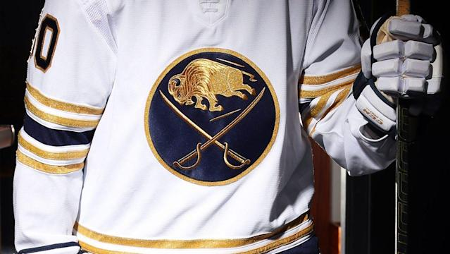 Sabres go gold and bold to celebrate 50th season