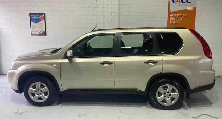 Supplied picture of a gold coloured Nissan X-trail like the one missing in outback Australia. Source: NT Police