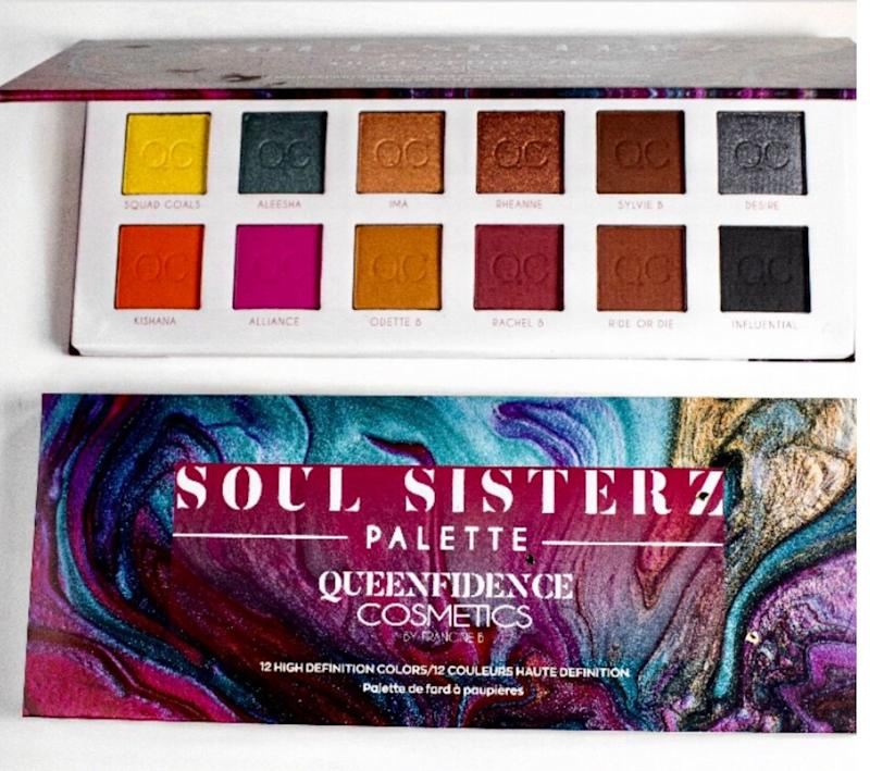 Soul Sisterz Eyeshadow Palette (Photo: Queenfidence Cosmetics)