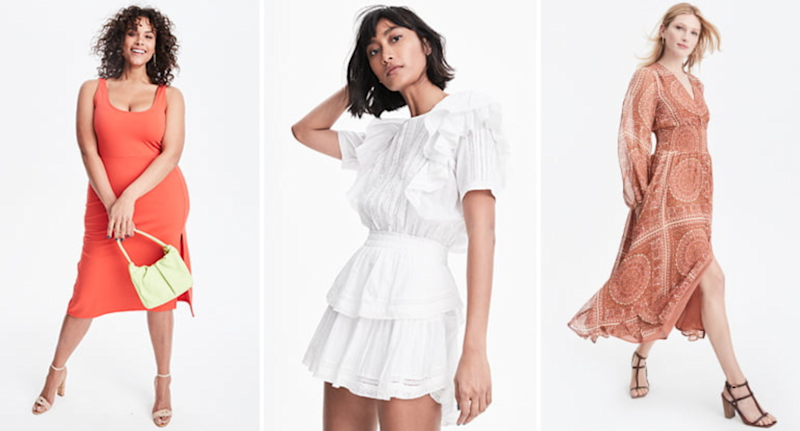 Nordstrom Better Together Sale: Dresses and Sandals.