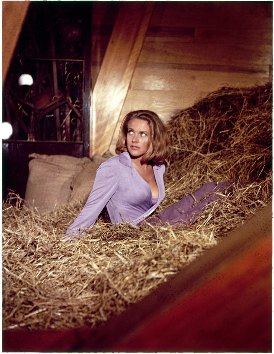 "Honor Blackman in ""Goldfinger"" 1964   (Photo by RDB/ullstein bild via Getty Images)"