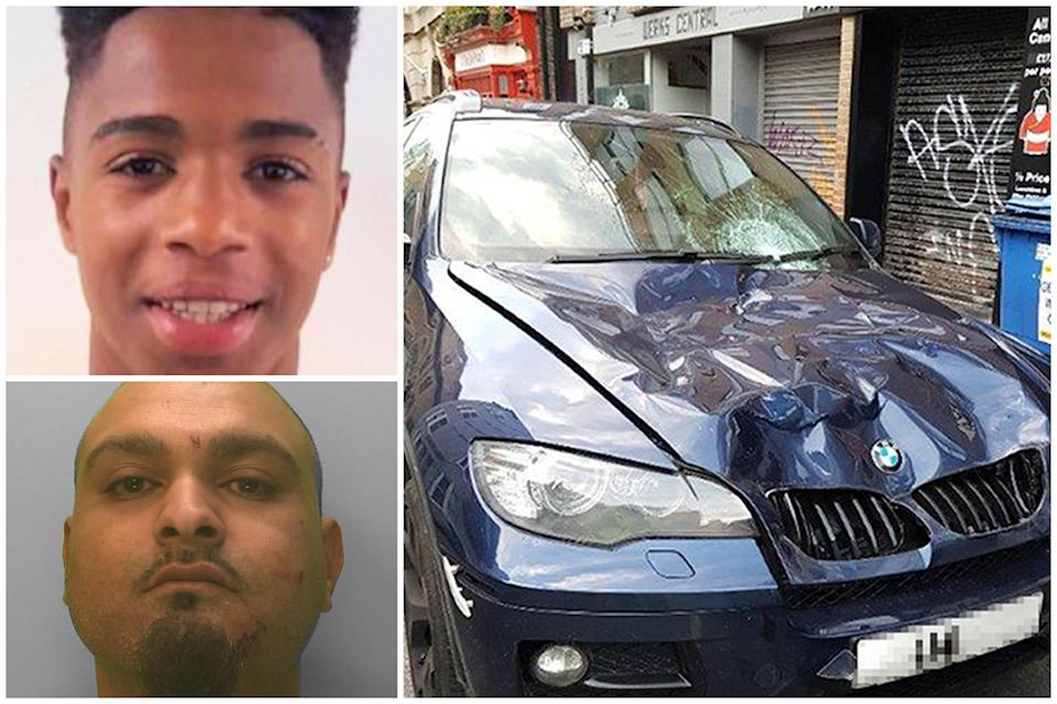 Suel Miguel Monteiro Delgado died in hospital after being hit by a car driven by Iftekhar Khondaker. (PA/Sussex Police)
