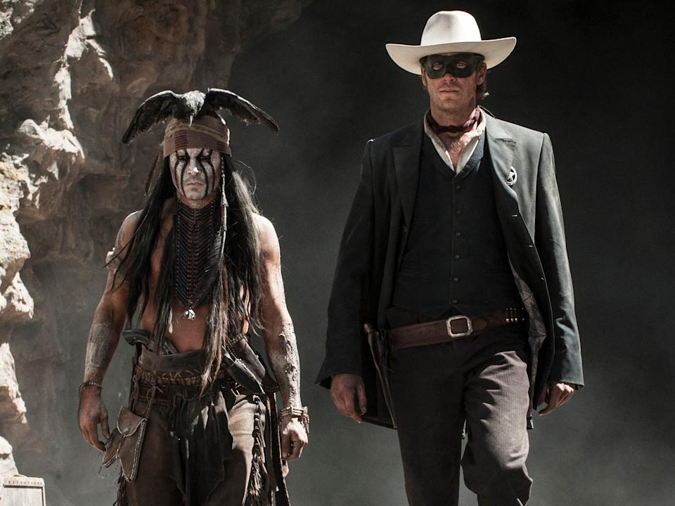 Disney was hoping for a new franchise with Johnny Depp in 2013.