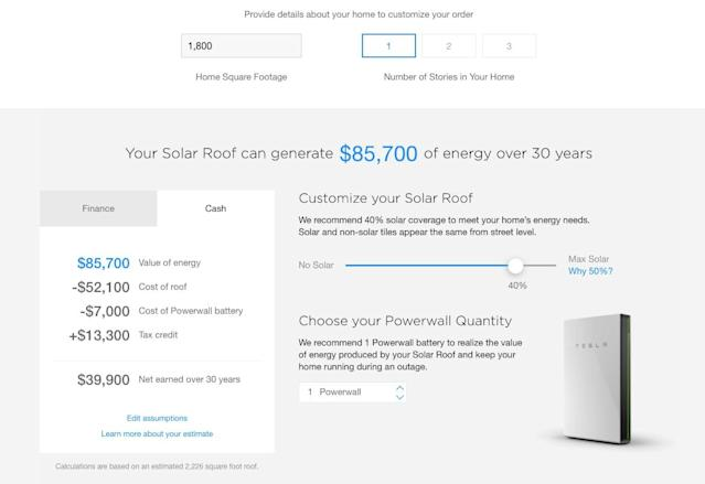 Here's How Much One of Tesla's Amazing Solar Roofs Actually