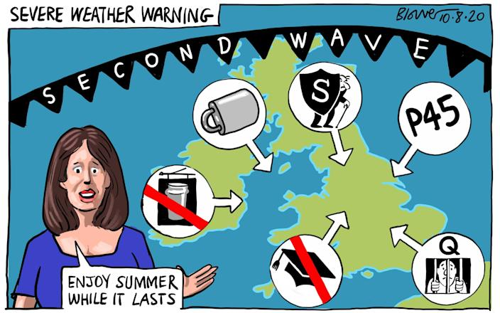 Is Britain facing the perfect storm of a new coronavirus wave? - BLOWER