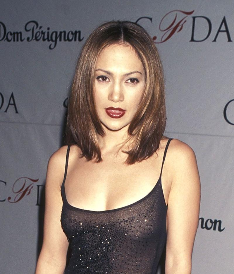 At the 17th Annual CFDA Awards on Feb. 8, 1998, at JP Morgan Atrium in New York City.