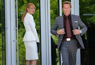 "Gwyneth Paltrow and Guy Pearce in Marvel Studios' ""Iron Man 3"" - 2013<br>WATCH: <a href=""http://movies.yahoo.com/blogs/movie-talk/exclusive-iron-man-3-trailer-shows-tony-stark-164716198.html"" data-ylk=""slk:Exclusive 'Iron Man 3' trailer;outcm:mb_qualified_link;_E:mb_qualified_link;ct:story;"" class=""link rapid-noclick-resp yahoo-link"">Exclusive 'Iron Man 3' trailer</a>"