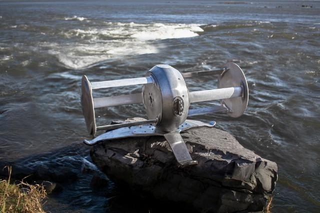 portable river turbine idenergie