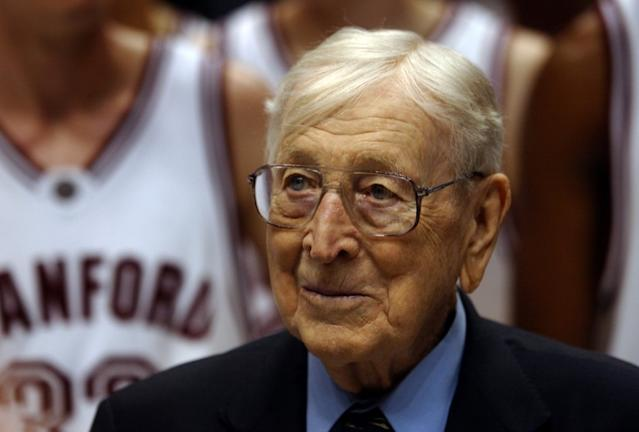 """John Wooden's teachings still serve as a blueprint for coaches today. <span class=""""copyright"""">(Christine Cotter / Los Angeles Times)</span>"""