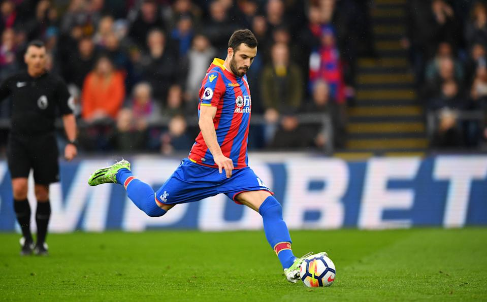 Luka Milivojevic scored his seventh goal from the penalty spot in Gameweek 32 against Liverpool
