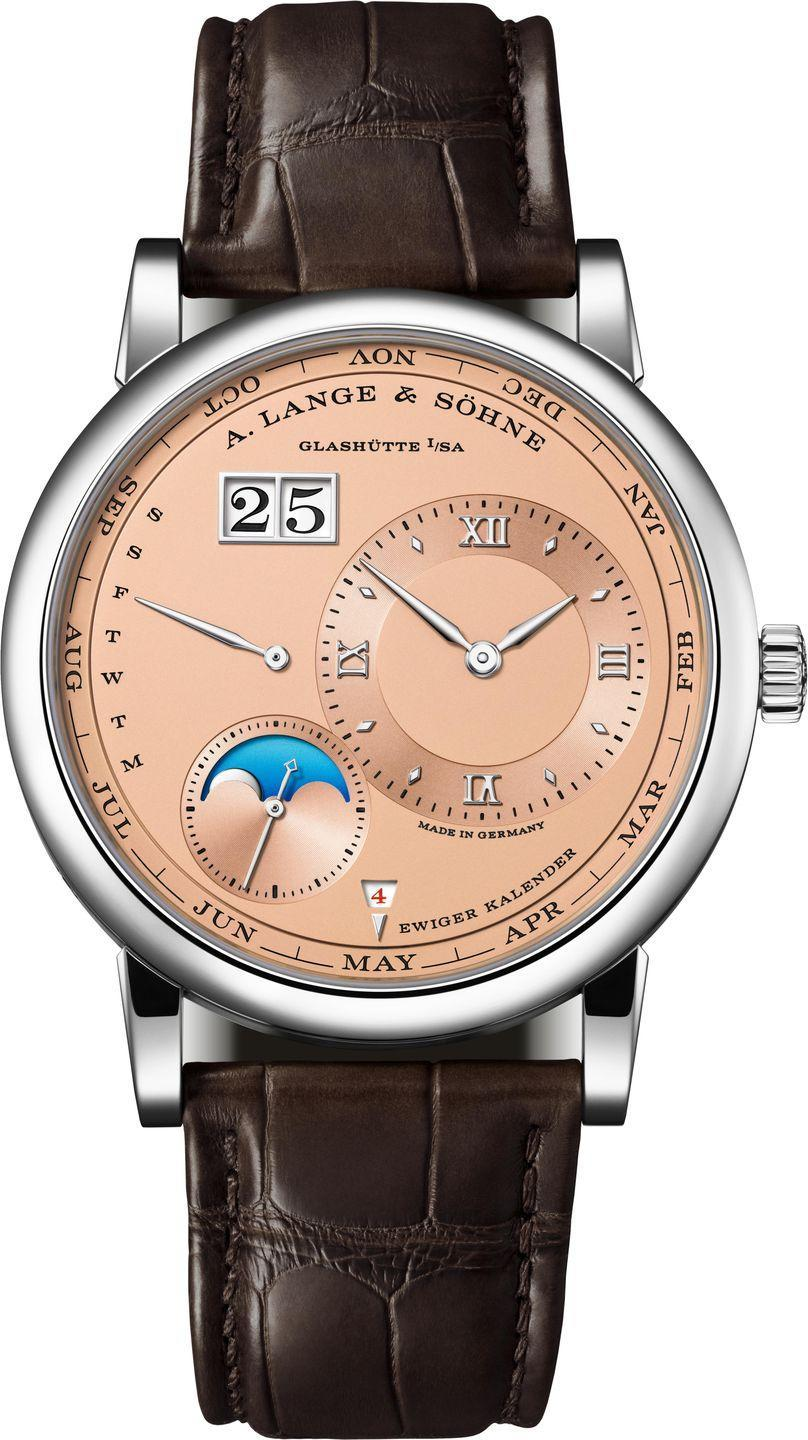 """<p>Lange 1 Perpetual Calendar</p><p><a class=""""link rapid-noclick-resp"""" href=""""https://go.redirectingat.com?id=127X1599956&url=https%3A%2F%2Fwww.harrods.com%2Fen-gb%2Fshopping%2Fa-lange-sohne%3Fscenarios%3Drank_weekly_trend%253Aalternative_with_vm&sref=https%3A%2F%2Fwww.esquire.com%2Fuk%2Fwatches%2Fg25973970%2Fbest-mens-watches%2F"""" rel=""""nofollow noopener"""" target=""""_blank"""" data-ylk=""""slk:SHOP"""">SHOP</a></p><p>Such is the esteem in which this storied watchmaker is held in its home country that when it opened its new factory in Glashütte in 2015, Angela Merkel attended. </p><p>We can't confirm whether the German chancellor was present at the opening of its new boutique in Harrods this May, but in its own way it was a significant moment for the brand. </p><p>Now anyone can now get hands-on with its watches in the Knightsbridge institution's Fine Watch Room. </p><p>It's an opportunity that may be as much a blessing as a curse. Seen IRL it's almost impossible not to fall in love with models like the pink gold Lange 1 Perpetual Calendar. Whether you then take the plunge is between you and your bank manager.</p><p>£POA; <a href=""""https://go.redirectingat.com?id=127X1599956&url=https%3A%2F%2Fwww.harrods.com%2Fen-gb%2Fshopping%2Fa-lange-sohne%3Fscenarios%3Drank_weekly_trend%253Aalternative_with_vm&sref=https%3A%2F%2Fwww.esquire.com%2Fuk%2Fwatches%2Fg25973970%2Fbest-mens-watches%2F"""" rel=""""nofollow noopener"""" target=""""_blank"""" data-ylk=""""slk:harrods.com"""" class=""""link rapid-noclick-resp"""">harrods.com</a></p>"""