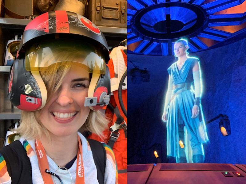 Kim Renfro Star Wars Rise of the Resistance Disneyland Park review
